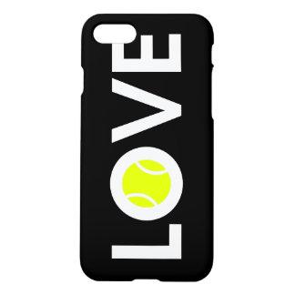 Capa iPhone 8/7 AMOR do ~ da bola de tênis