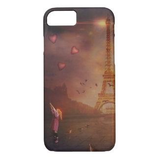 Capa iPhone 8/ 7 Amor em Paris