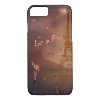 Capa iPhone 8/ 7 Amor em Paris II