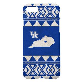 Capa iPhone 8/7 Amor tribal do estado de Kentucky |