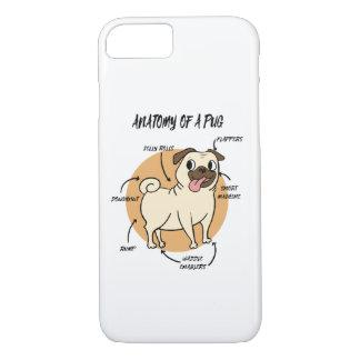 Capa iPhone 8/ 7 Anatomia de um Pug