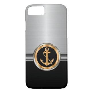 Capa iPhone 8/ 7 Âncora elegante do barco dos homens