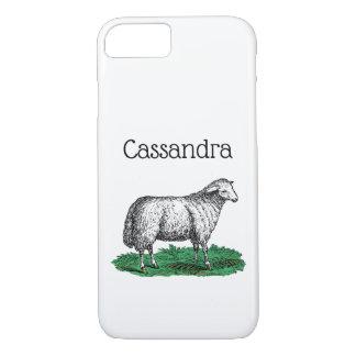 Capa iPhone 8/ 7 Animais de fazenda da ovelha dos carneiros do