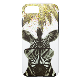 Capa iPhone 8/ 7 Animal do estilo da zebra do hipster
