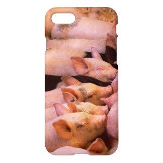 Capa iPhone 8/7 Animal - porco - comida do conforto