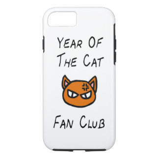 Capa iPhone 8/ 7 Ano do exemplo do clube de fãs do gato