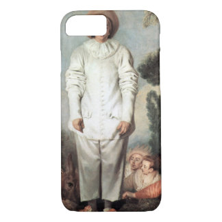 Capa iPhone 8/ 7 ANTOINE WATTEAU - Pierrot (Gilles) 1718