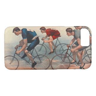 Capa iPhone 8/ 7 Anúncio 1896 de Lithos da bicicleta