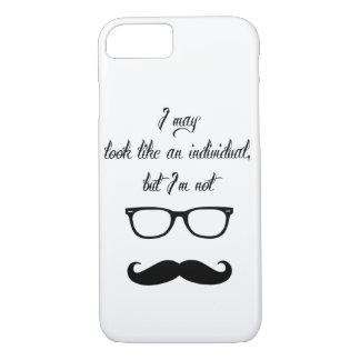 Capa iPhone 8/ 7 Apenas material do hipster