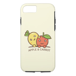 Capa iPhone 8/ 7 Apple e caixa da cenoura