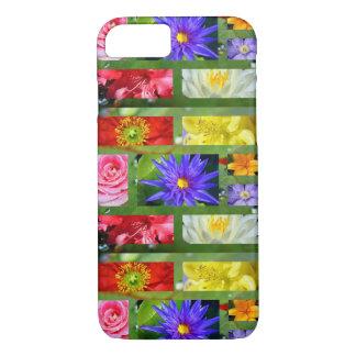 Capa iPhone 8/ 7 Arco-íris das flores