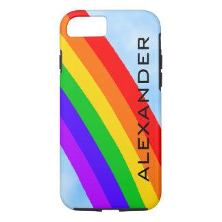 Capa iPhone 8/ 7 Arco-íris personalizado