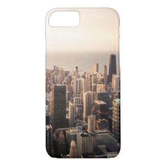 Capa iPhone 8/ 7 Arquitectura da cidade de Chicago