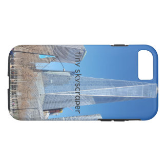 Capa iPhone 8/ 7 arranha-céus minúsculo
