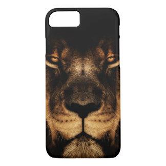 Capa iPhone 8/ 7 Arte africana da cara do leão