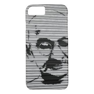 Capa iPhone 8/ 7 Arte da rua de Mahatma Gandhi