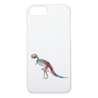 Capa iPhone 8/ 7 Arte do esqueleto do rex do tiranossauro