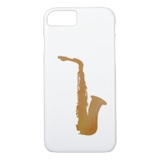 Capa iPhone 8/ 7 Arte do saxofone