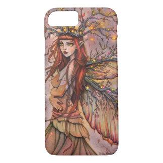 Capa iPhone 8/ 7 Arte feericamente da fantasia da rainha do outono