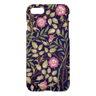 Capa iPhone 8/7 Arte floral Nouveau do Briar doce de William