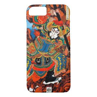 Capa iPhone 8/ 7 Arte legendária japonesa oriental legal do samurai