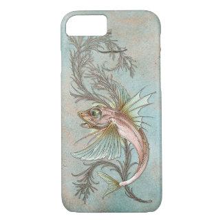 Capa iPhone 8/ 7 Arte Nouveau dos peixes da fantasia