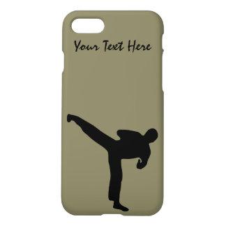 Capa iPhone 8/7 Artes marciais. O karaté, Tae Kwon faz,