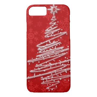 Capa iPhone 8/ 7 Árvore de Natal Scribbled