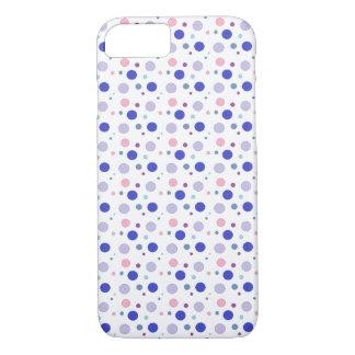 Capa iPhone 8/ 7 As bolhas coloridas projetam, cores pastel nos