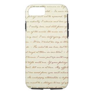Capa iPhone 8/ 7 As citações do melhor de Jane Austen