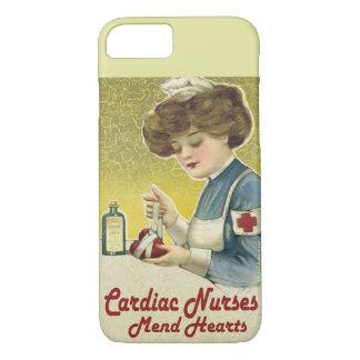 Capa iPhone 8/ 7 As enfermeiras cardíacas emendam corações