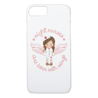 Capa iPhone 8/ 7 As enfermeiras de noite são nascidas com asas