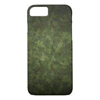 Capa iPhone 8/ 7 As forças armadas verdes escuro camuflam