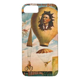 Capa iPhone 8/ 7 Ato 1896 do pára-quedas da bicicleta