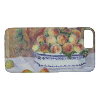 Capa iPhone 8/ 7 Auguste Renoir - ainda vida com pêssegos