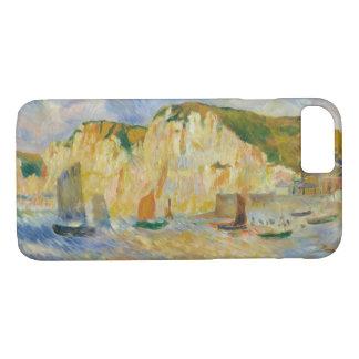 Capa iPhone 8/ 7 Auguste Renoir - mar e penhascos