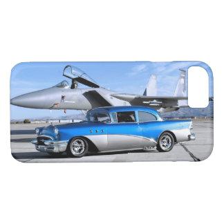Capa iPhone 8/ 7 Avião de combate 1955 clássico especial do carro