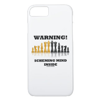 Capa iPhone 8/ 7 Aviso! Mente de planejamento dentro do humor da