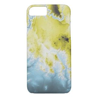 Capa iPhone 8/ 7 Azul abstrato da garganta grande das variações a