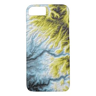 Capa iPhone 8/ 7 Azul abstrato de Califórnia das variações a