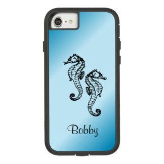 Capa iPhone 8/ 7 Azul do cavalo marinho
