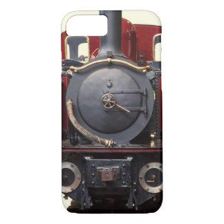 Capa iPhone 8/ 7 Azul e trem vermelho