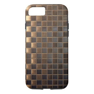 Capa iPhone 8/ 7 Azulejo de cobre do Alumínio-Efeito