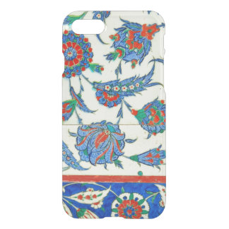 Capa iPhone 8/7 Azulejo de Iznik, design floral turco