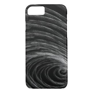 Capa iPhone 8/ 7 B&W Spiral2 orgânico - iPhone de Apple 8/7 de caso
