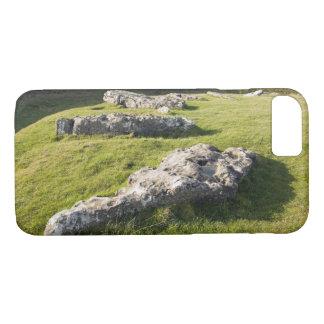 Capa iPhone 8/ 7 Baixo círculo de pedra do mandril na foto de