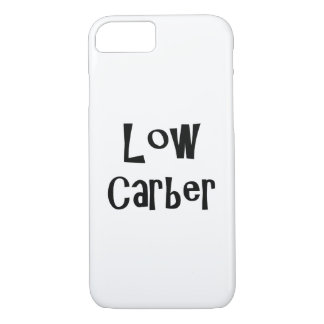 Capa iPhone 8/ 7 Baixo iPhone de Carber - de Apple 8/7 de cobrir