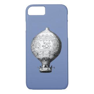 Capa iPhone 8/ 7 Balão de ar quente do vintage de Montgolfier