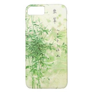 Capa iPhone 8/ 7 Bambu do vintage