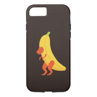 Capa iPhone 8/ 7 Banana T Rex